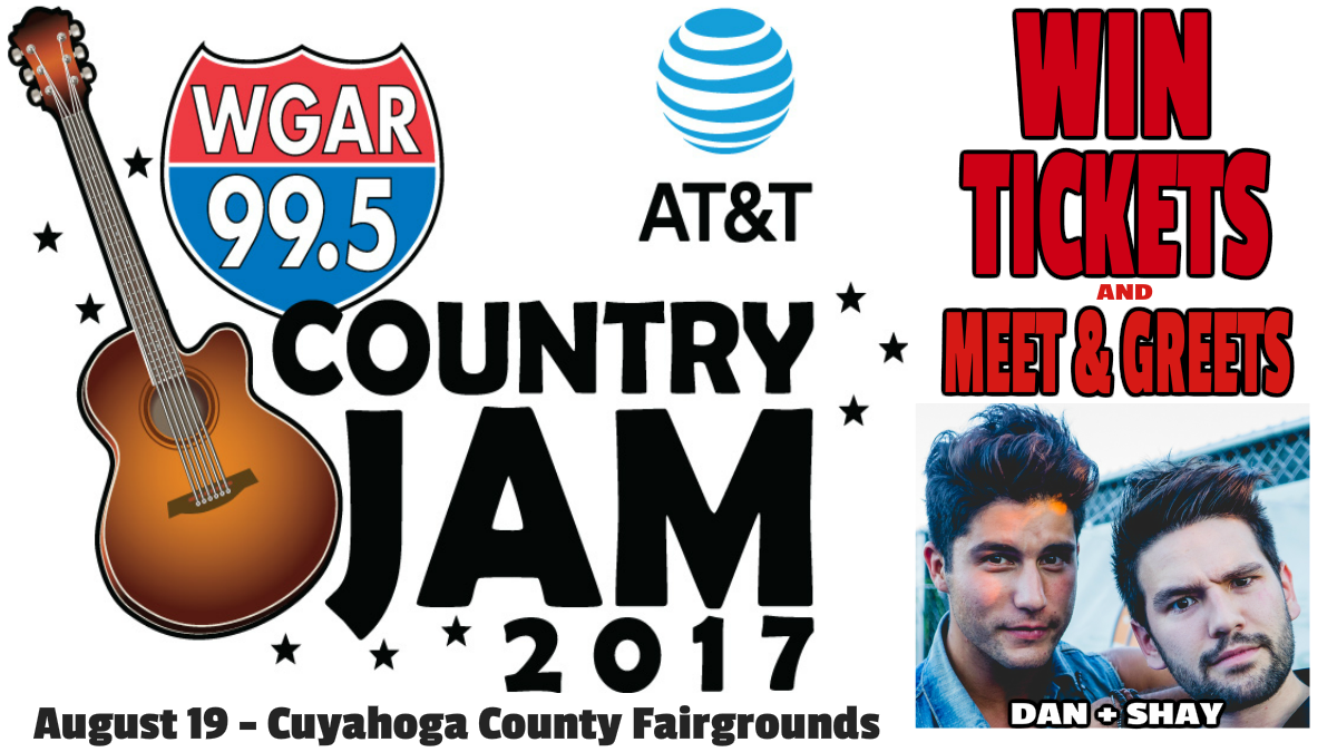 Win tickets and meet greets to the wgar country jam 2017 and meet greets to the wgar country jam on saturday august 19 at the cuyahoga county fairgrounds in berea ohio this years event bring danshay kristyandbryce Images