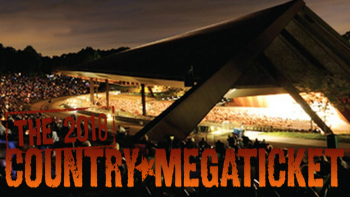 blossom music center 2018 country megaticket – cleveland country