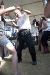Country Dancers at Thirsty Cowboy Saloon - Country Jam 2016